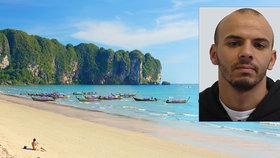 Vězeň Oualid Sekkaki poslal dozorcům pozdrav z Thajska.