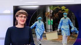 Hlavní hygienička ČR Eva Gottvaldová v Epicentru na Blesk.cz (23. 1. 2020)