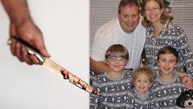 Anthony Todt povraždil svou rodinu.