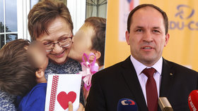 Vdovec Marek Výborný (KDU-ČSL) se kvůli smrti manželky Markéty rozhodl skončit coby šéf lidovců.