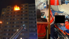 Požár v Kladně skončil tragicky.