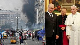 Při demonstracích v Iráku zahynuli čtyři lidé. Papež zemi nejspíš nenavštíví