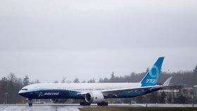 Boeing 777x má za sebou první zkušební let.