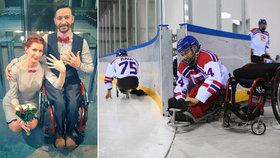 Bývalý kapitán sledge hokejové reprezentace se oženil.