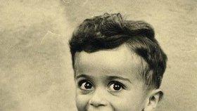 Ištván Reiner (†4) na původním snímku.
