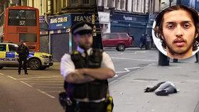 Sudesh Amman (†20) v Londýně pobodal 3 lidi, jeho řádění ukončila policie.