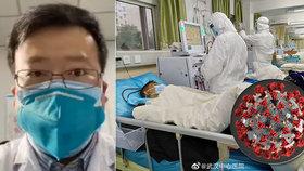 Lékař Li Wen-liang (†34) už v prosinci varoval před koronavirem. Skončil na policii, teď je na jipce.