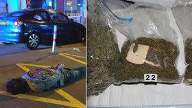 Kriminalisté na Zlínsku dopadli cizince, kteří pašovali do Česka marihuanu.