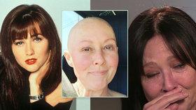 Zhroucená Brenda z Beverly Hills 90210: Návrat rakoviny! V posledním stádiu