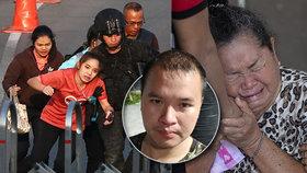 Tragédie v Thajsku