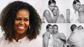 Bývalá první dáma Michelle Obamová promluvila o manželských problémech.