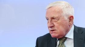 Exprezident Václav Klaus byl hostem pořadu Epicentrum na Blesk.cz (10.2.2020).