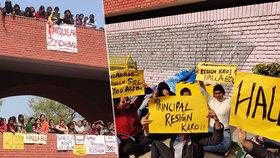 Hordy mužů osahávaly studentky v Indii, nebylo jim úniku, policie nečinně přihlížela.