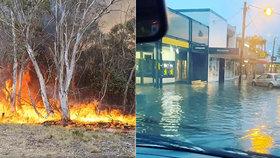 Australské Sydney zasáhly nejvydatnější srážky za 30 let.