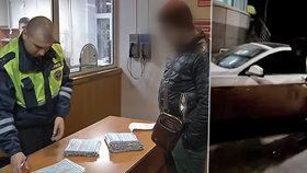 Ruská policie zadržela řidiče, který se dopustil 2 tisíc přestupků.