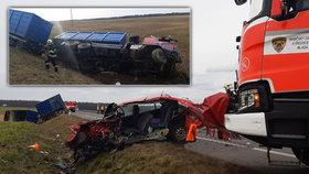 Smrtelná nehoda u Mladé Boleslavi.