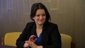 Ministryně Jana Maláčová (ČSSD) v rozhovoru pro Blesk (11. 2. 2020)
