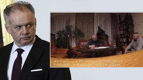 Krátce před volbami se objevilo video, které má pošpinit exprezidenta Kisku