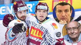 Hokejová Sparta znovu vzdá hold! Dočkají se legendy kriminalistiky jako Markovič nebo Mareš.