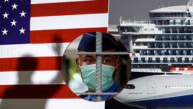 Američané evakuují své občany z výletní lodi Diamond Princess.