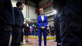 První ministryně Skotska Nicola Sturgeonová