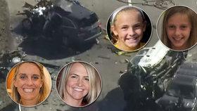Šílená tragédie: Obří pick-up s opilým řidičem smetl rodinné auto. V něm zemřely dvě matky a jejich dcery.