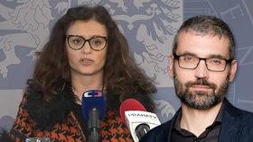 Hejtmanka Jaroslava Pokorná Jermanová kritizovala novináře Blažka ze Seznamu, protože se velmi zajímal o její kauzu se služebním vozem.