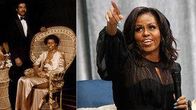 Někdejší první dáma Spojených států Michelle Obamová na svých sociálních sítích zveřejnila snímek ze svého maturitního plesu.