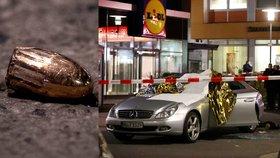 Ve městě Hanau u Frankfurtu nad Mohanem při střelbě zemřelo osm lidí (20. 2. 2020)
