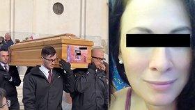 Češku Zdenku zavraždil běsnící Ital: Poslední sbohem jí dal kněz i její rodina