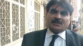 Pákistánský právník Asghar Dogar