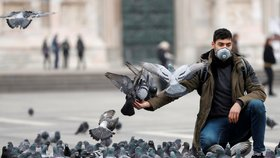 Epidemie v Itálii: Ztichlé ulice, vyprodané obchody, prázdné bary