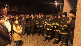 Malou holčičku hledali hasiči i dobrovolníci.