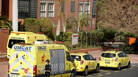 Hotel H10 Costa Adeje Palace na španělském Tenerife je stále v karanténě.(26.2.2020)