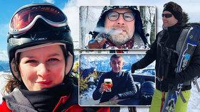 Mění kvůli koronaviru čeští politici plány? Třeba Radek Vondráček (ANO, vpravo) zrušil rodinou dovolenou na lyžích v Alpách