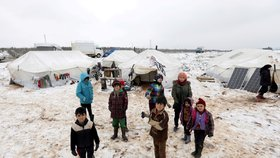 Uprchlický tábor  Azaz