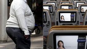 Diskriminace v letadle: Jsou aerolinky vysazené na lidi s nadváhou?