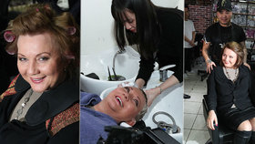 Ministryně financí a vicepremiérka Alena Schillerová (za ANO) si v Sapě nechala vyfoukat hlavu, užila si i masáž.
