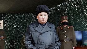 Poslednímu odpalu raket přihlížel i Kim Čong-un, (2.03.2020).
