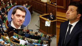 Demise ukrajinské vlády