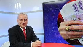 Předseda odborářů z ČMKOS Josef Středula v Epicentru na Blesk.cz (4. 3. 2020)
