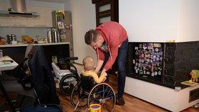 Maxík trpí nemocí zvanou spinální svalová atrofie. Ke svému uzdravení potřebuje lék v hodnotě 51 milionů korun.