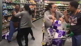 Rvačku o toaletní papír musela ukončit policie!