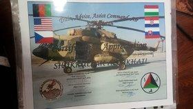 Ocenění, která Shukrullah Alimkhail obdržel za svou pomoc mezinárodním silám.