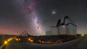 Fotografie noční oblohy Petra Horálka