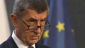 Andrej Babiš (ANO) během tiskovky ke koronaviru oznámil další zpřísnění opatření (12.3.2020).