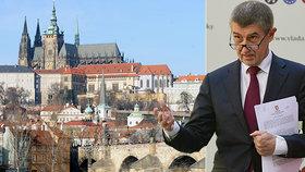 Karanténa pro Prahu je nesmysl, řekl premiér Andrej Babiš.