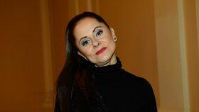 Moderátorka Laďka Něrgešová