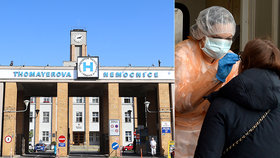 Thomayerova nemocnice bude nově testovat lidi na přítomnost koronaviru v těle.