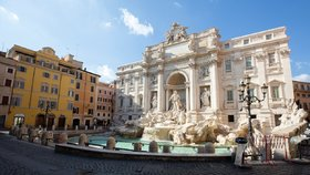 Fontána di Trevi, Řím
